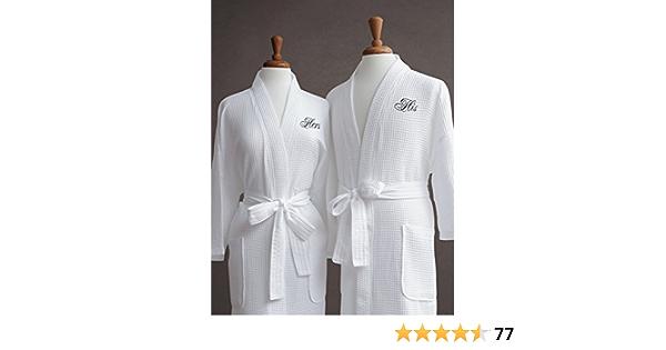 Robe De Chambre set Peignoir Sauna Manteau 2 personnes Ultrasoft nurpak