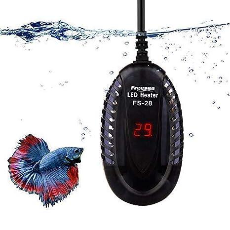 50-300Watt FREESEA Aquarium Fish Tank Submersible Heater with LED Temperature Display