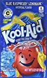 Kool-Aid Twists Soft Drink Mix – Ice Blue Raspberry Lemonade Unsweetened, Caffeine Free, 0.22 oz/envelope (Pack of 15) For Sale