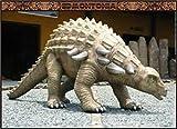 Edmontonia (Ankylosaurus type) Fiberglass 15ft Life Size Dinosaur Statue (Jurassic Park)