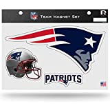 Rico Industries NFL New England Patriots Die Cut Team Magnet Set Sheet