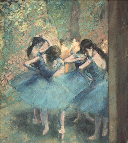 The Perfect Effect Canvas Of Oil Painting 'Degas Ballet Class' ,size: 20x22 Inch / 51x57 Cm ,this Cheap But Art Decorative Art Decorative Canvas Prints Is Fit For Kids Room Gallery Art And Home Gallery Art And Gifts (Bag Ballet Degas)