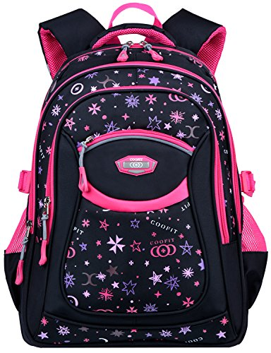 School Backpack for Girls, COOFIT Middle School Bookbags for Girls School Bag Kids Backpack for School