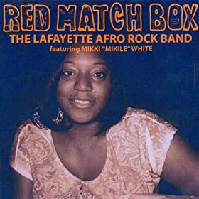 Red match box feat mikki mikile white the for Lafayette cds 30