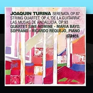 """Joaquín Tuina: Serenata, Op. 87 / String Quartet, Op. 4, """"De La Guitarra"""" / Las Musas De Andalucía, Op. 93"""