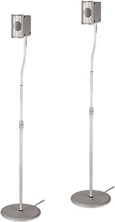Hama Slim Speaker Stand Silver Mp3 Hifi