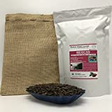 2-LBS SUPER FRESH ROASTED – MEXICAN COFFEE (in a FREE BURLAP BAG) – Order Today/ROASTED TODAY – Beautiful Medium/Dark, Whole Bean – SUPER SWEET – a Perfectly Developed Roast – BEST AWESOME TASTES