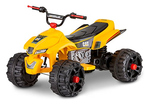 Pacific Cycle Kid Trax Caterpillar 12V Power Quad Ride On...
