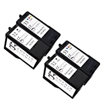 Sophia Global Remanufactured Ink Cartridge Replacement for Lexmark 32 and Lexmark 33 (2 Black, 2 Color)