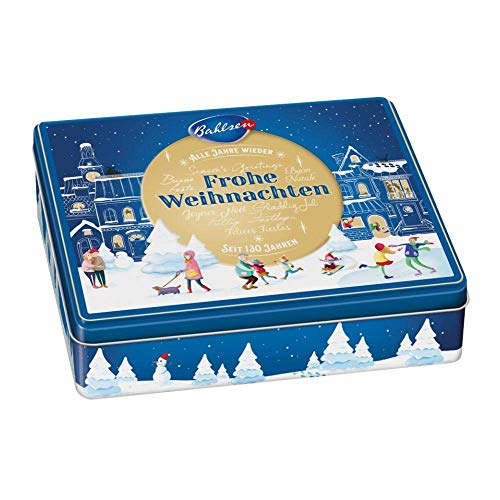 Bahlsen Gingerbread Cookie Tin 10.6 oz each (1 Item Per Order, not per case)