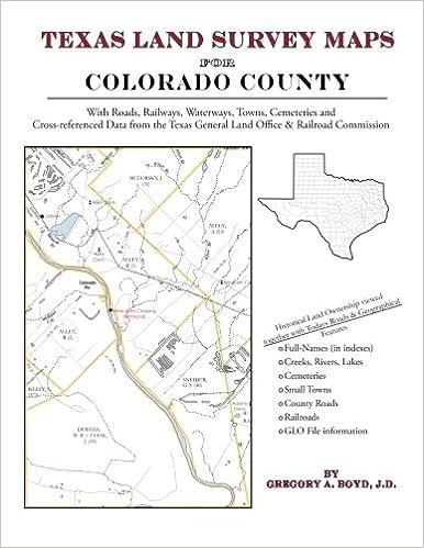 Texas Land Survey Maps For Colorado County Gregory A Boyd J D