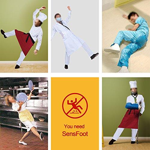 Slip Kitchen Slip Nurse SensFoot Chef Non for Restaurant Shoes Work Non Shoes wqwE5YP