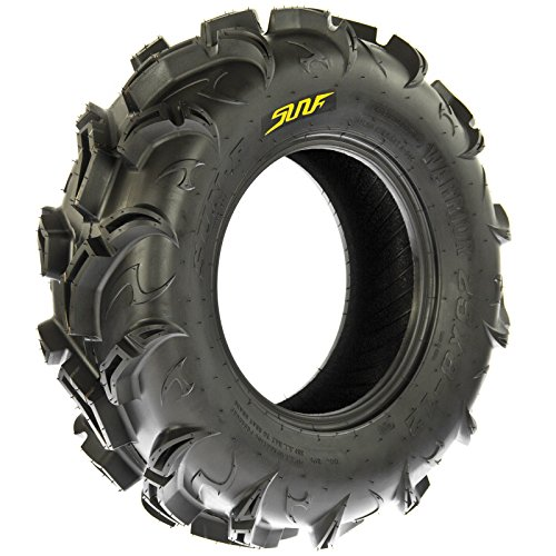 SunF Warrior AT-Mud & Trail ATV/UTV Off-Road Tires (26x9-12 Front & 26x11-12 Rear) , 6 PR (Full Set of 4)|A048 by SunF (Image #5)