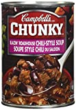 Campbell's Chunky Blazin Roadhouse Chili-Style Soup, 540 ml