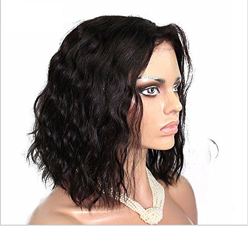 Search : 35cm Curly Black Wig Short Bob African American Wigs Natural Slight Wave Synthetic Fiber Full Wig For Party Cosplay Daily
