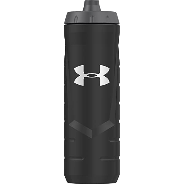 Under Armour Undeniable 32 Ounce Squeeze Bottle with Quick Shot Lid