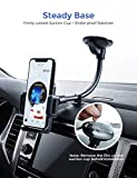 Mpow 033 Car Phone Mount, Windshield Long Arm Car