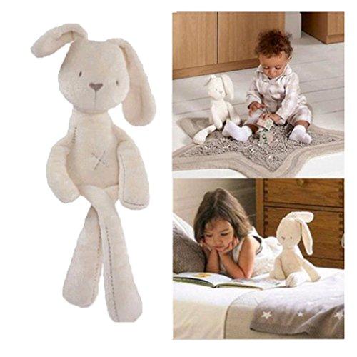 VWH Bunny Sleeping Peluches Poupées Jouets Peluche Lapin Empaillé Poupées Dorment Jouets Les Bébés Filles Cadeaux Rabbit Bunny Plush Dolls Toy
