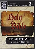KJV Comp Scourby MP3 2 CDs Alexander Scourby-King james Version-Complete Audio Holy Bible-MP3-2 Discs-Audiobook, MP3 Digital ... Birth- Crucifixion-Resurrection- Saint Peter