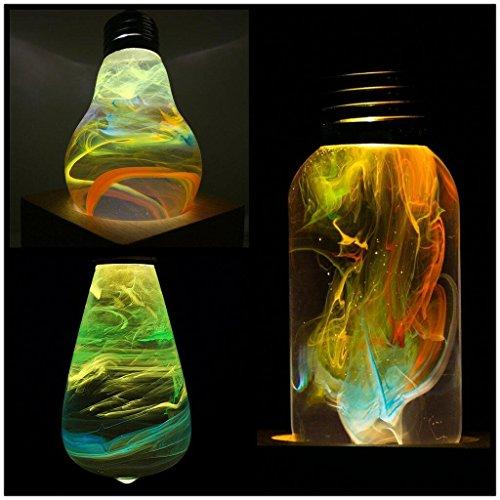 3pack Different Novelty Design Light Bulbs, Atmosphere Lighting Decorative Light for Home,Party,Bar,Christmas Decor (Light 3w Outdoor Break)