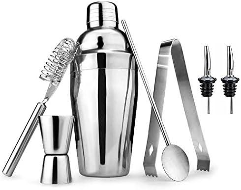 Sipliv set de 7 coctelera camarero kit: coctelera (550 ml ...