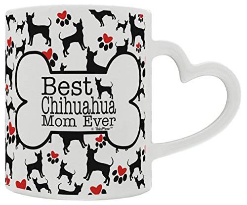 Chihuahua Accessories Lover Handle Coffee