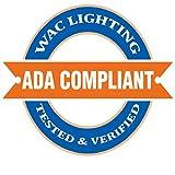 WAC Lighting 5211-LSHR-BBR Large Accent Long Cowl