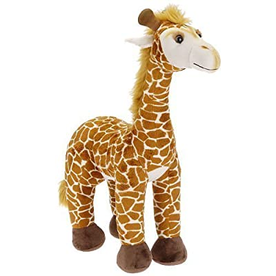 "Animal Alley 22"" Tall Standing Giraffe Plush: Toys & Games"