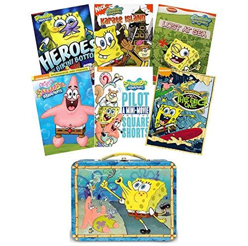 Spongebob Series Squarepants (Ultimate Spongebob Squarepants DVD Collection: Volume 2 (6-DVD Set + Bonus Lunchbox) - Heroes of Bikini Bottom/Karate Island/Lost at Sea/Patrick Squarepants/The Pilot/The Big One)