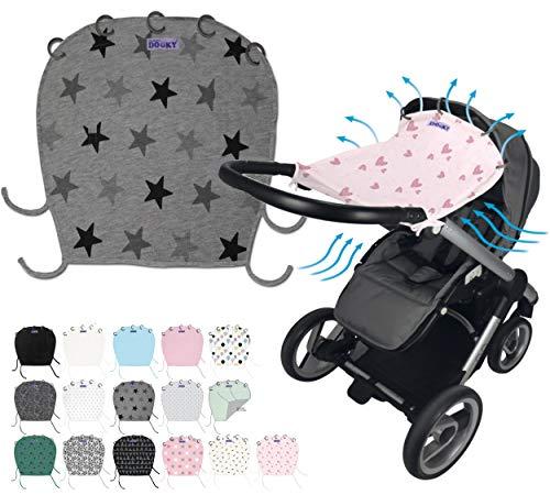Original DOOKY ** Style UV+ 40 ** Parasol / Proteccion solar universal para cochecitos, capazos y sillas de paseo