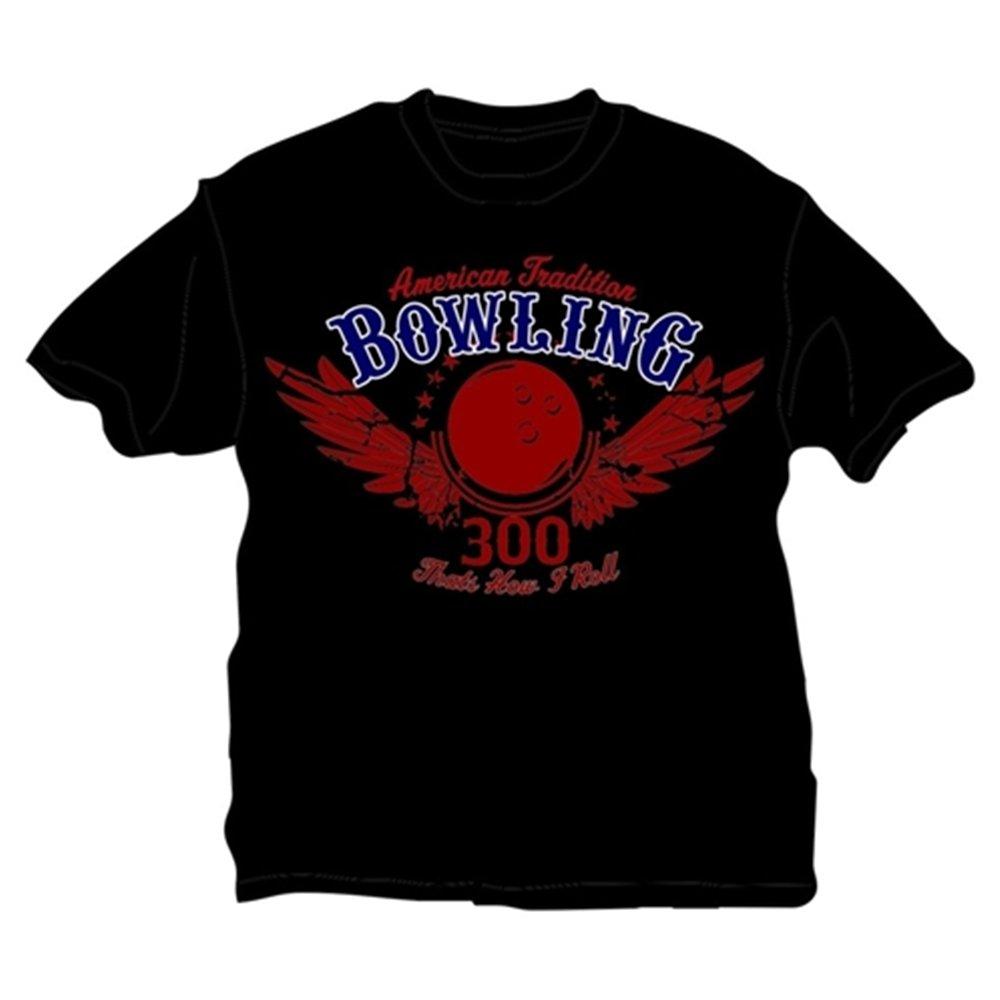 大人気の That 's Roll How How I ブラック Roll Bowling Tシャツ XXXX-Large ブラック B00CD6M5NE, 2019年秋冬新作:2288ac79 --- eastcoastaudiovisual.com