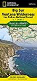 Search : Big Sur, Ventana Wilderness [Los Padres National Forest] (National Geographic Trails Illustrated Map)