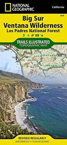 National Forest Trail Map (Big Sur, Ventana Wilderness [Los Padres National Forest] (National Geographic Trails Illustrated Map))