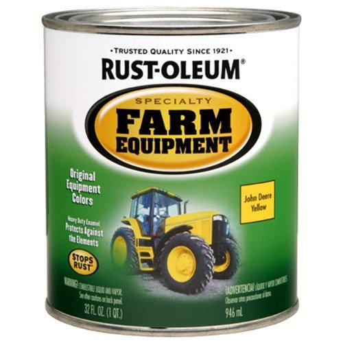 Rust-Oleum 7443502 Specialty  Farm Equipment Enamel,Yellow J