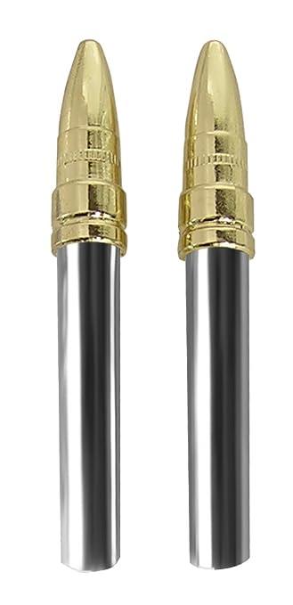 Amazon.com: Custom Accessories 16228 Brass Bullet Style Door Lock ...