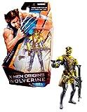 Hasbro X-Men Origins Wolverine Comic Series 4 Inch Tall Action Figure - MAVERICK with Pistol and Assault Rifle