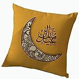 Pillow Cover Cushion Ramadan Decoration Islamic Eid Celebration