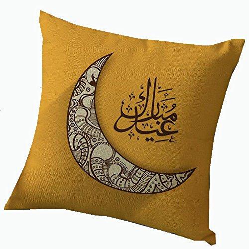 Pillow Cover Cushion Ramadan Decoration Islamic Eid Celebration (Wicker Patio Furniture Sydney)
