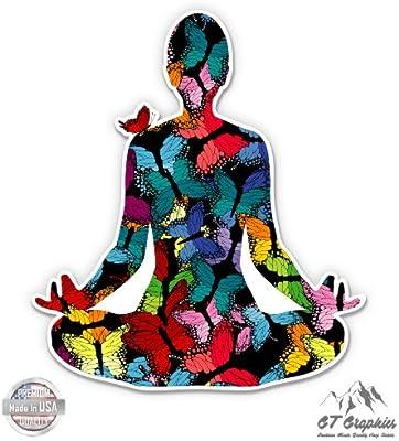Amazon.com: GT Gráficos mariposas – de meditación de Yoga ...