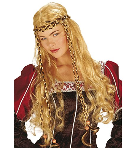 Mona Lisa Random Blonde/black Wig For Fancy