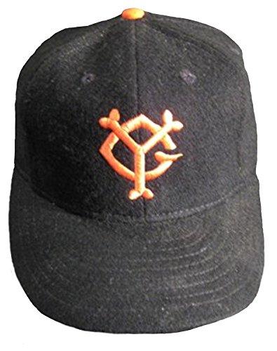 Ideal Cap Co. Yomiyuri Vintage Baseball Cap 1954 7 1/4 Black/Orange (Ideal Cap Company compare prices)