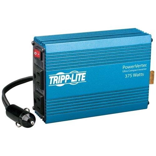 Tripp Lite Powerverter 375-Watt Ultra-Compact Inverter - 12V Dc - 120V Ac - Continuous Power:375W
