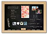 Magnetic Chalkboard with Maple Frame