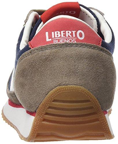 Lib41sl ceniza Zapatillas Liberto Para Mujer Gris 6XvpwPdqw