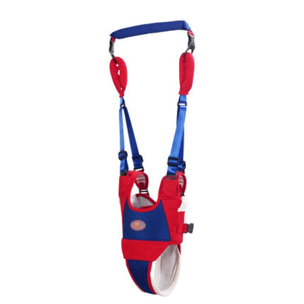 Baby Walking Assistant, Child Safety Harness Fall Protection Handheld Kid Keeper Safety Walking for 6 to 24 Months Baby - Blue