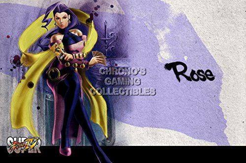 - Street Fighter IV CGC Huge Poster Glossy Finish - Super Rose - STR091 (16