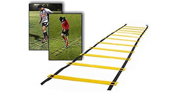 homdox – Escalera de entrenamiento de fútbol Escalera de coordinación para ejercicios de koordinations y Movilidad Agility Escalera con Negra Bolsa de 10 5 m: Amazon.es: Deportes y aire libre