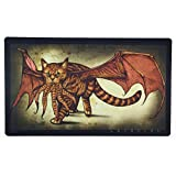 Inked Playmats Cathulhu 2 Playmat Inked Gaming Perfect for MTG Pokemon & YuGiOh Magic The Gathering TCG Game Mat
