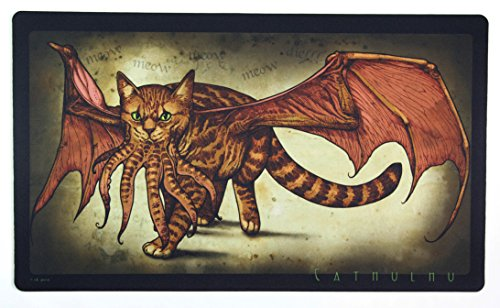 Inked Playmats Cathulhu 2 Playmat Inked Gaming Perfect for MtG Pokemon Hearthstone & YuGiOh Magic the Gathering TCG Game Mat