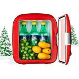mini 1 can coke fridge - gx 9L Coca-Cola Mini Car Small Refrigerator,Household Small Refrigeration and Heat Preservation Car Dual-use Student Dormitory ice Cabinet (Color : Red)